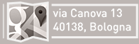 Dove siamo: Via Canova, 13 - 40138 Bologna (apre una google map in nuova finestra)